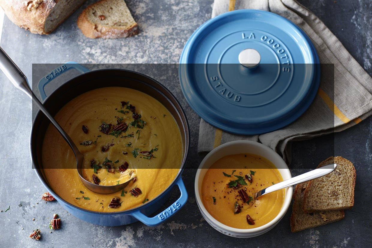 Limited Edition STAUB Ice Blue Cocottes